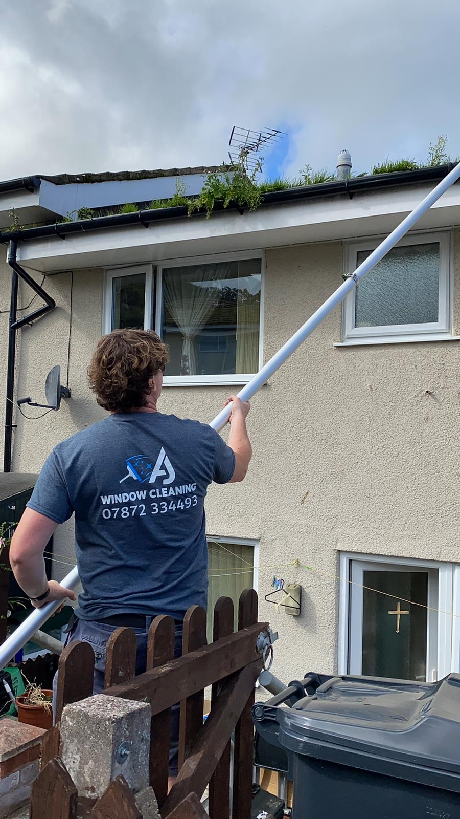 Adam cleaning domestic windows