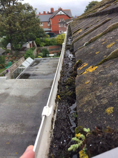 Gutter Cleaning, North Wales