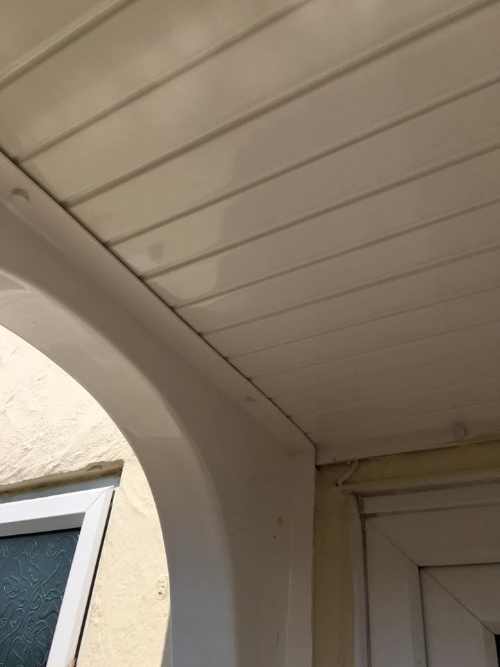 Clean fascia