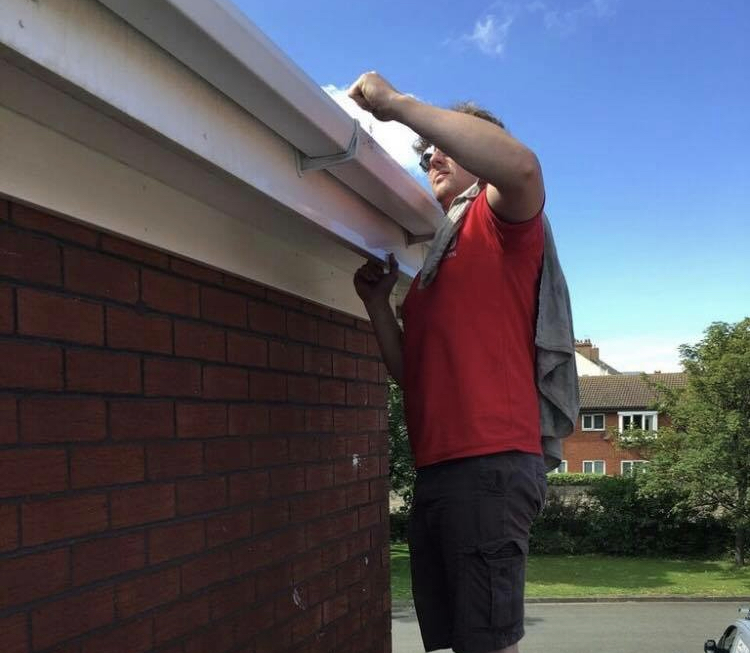 Fascia & Soffit cleaning, North wales